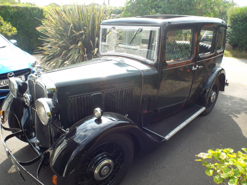 Photos of a 1934 Morris ten four pre series I bought it in 1999 from west Wales I don't know a lot about the history it was first registered in the isle of white. The original number plate was sold at some point. Dave Lyall