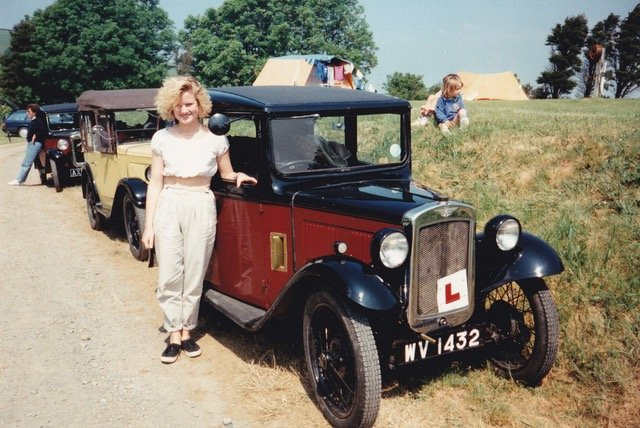 Ceri Poole's 1932 RN was a 17th Birthday present from mum and dad.